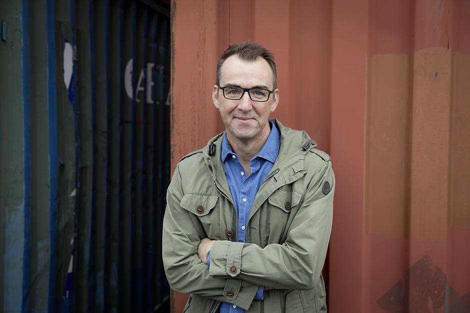 Der Autor Gerald Falkenburg