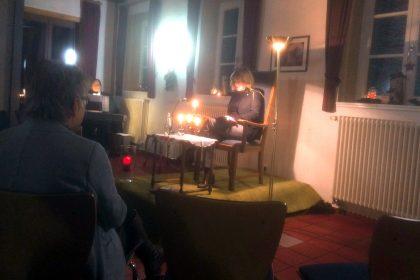 Lesung auf Schloss Sythen im Dezember 2017