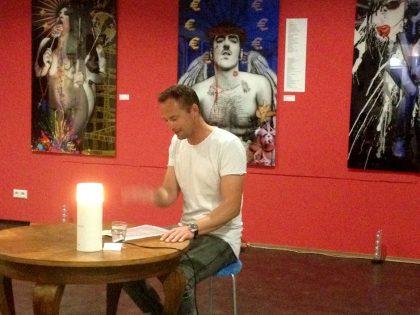 Lesung in der Kunstgalierie Landmann31 in Köln