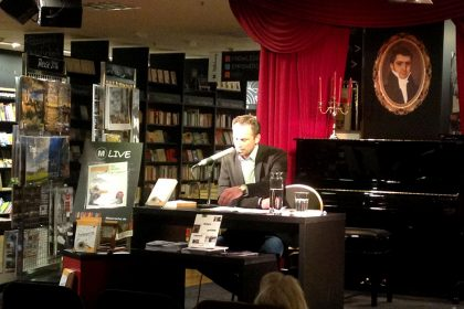 Kai Preißler liest in der Mayerschen Buchhandlung in Dortmund im September 2015.