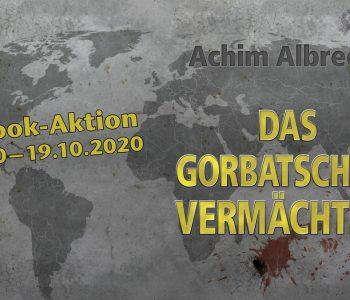 E-Book-Aktion mit dem Agententhriller Das Gorbatschow Vermächtnis