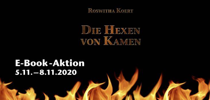 """E-Book-Aktion mit dem Roman """"Die Hexen von Kamen"""""""