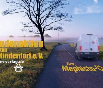 Spendenaktion zugunsten SOS-Kinderdorf e.V. mit dem Buch Der Mephisto-Club