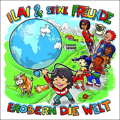 Ilai & seine Freunde erobern die Welt Kinderbuch von Achim Albrecht, Markus Murlasits und Sandro Proietto  Zum Buch ►