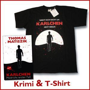 Bundle mit Karlchen T-Shirt und Krimi Karlchen